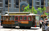 SF : Turn the cable car at  Powell & Market Sts.
