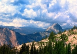 Weather changing @Yosemite Park