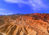 Hot mountains,fiery sky,this is the Death Valley