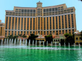 Fountains and music @ Bellagio Casino, Las Vegas