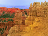 Rocks and different colors at Bryce Canyon