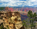 All Grand Canyon's colors: you have only to wait the right time ...