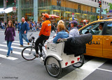 Manhattan Pedicab vs  NYC Taxi Cabs