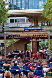 Concert at Hemming Plaza Station