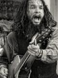 Wild Man with Guitar