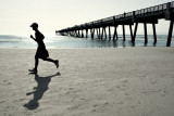 Running Past the Pier