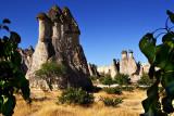 Fairy chimneys of Zelve