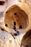 Climbing into Caves