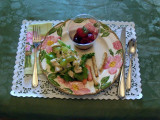 Plate for Spring Luncheon