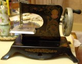 Little Miss Sewing Machine Front
