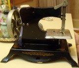 Little Miss Sewing Machine Back