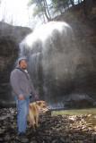 Tim & Me at Tiffany's Falls