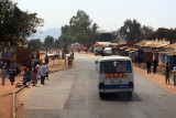 On the road in Northern Malawi