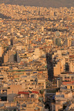 Looking south over Athens from the Filopappos Hill