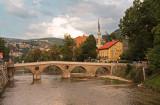 The Latin Bridge over the Miljacka River