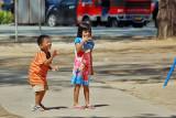 Children in Patong, Phuket