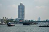 The Chau Praya River, Bangkok
