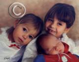Meghan and siblings