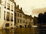 Boating through Bruges