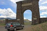 Gardiner entrance to Yellowstone