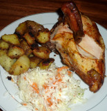 1/4 Chicken White Meat Plate