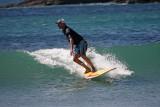 Steve & Toni Go Surfing