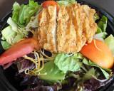 Crispy Chicken Cesar Salad
