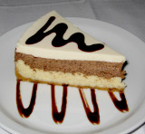 White Chocolate, Chocolate Cheesecake