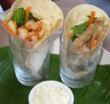 Shrimp & Fish Wraps