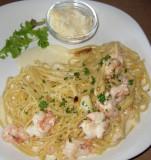 Shrimp Pasta In Lemon Sauce