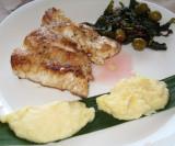 Pan Sheared Fish Filet