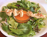 Mixed Greens Salad with Chicken