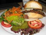 Southwest  Veggie Black Bean Burger
