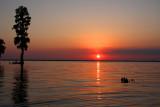 Sunset on Lake des Allemands
