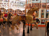 Carousel and Flying Horses Restored to  Former Beauty