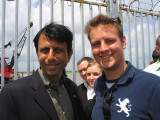 Governor Bobby Jindal and my grandson, Christopher Eckhardt -2008