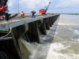 Bonnet Carre' Spillway  in St. Charles Parish, Louisiana