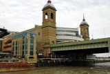 Cannon Street Railway Bridge with original train shed tower