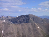 Summit View of Quandary Pk, Elev 14,265'