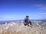 Jim, Summit of Lincoln, Elev 14,286' @9:30AM