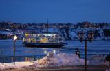 Canada, Quebec - Ferry by Night