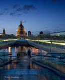 The Millenium Bridge Ghost