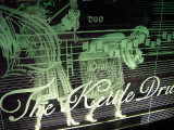 Edge Lit Etched Glass Panel