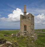Ruins Of Botallack Tin Mine Engine House
