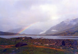 Rainbow on Shandur Top