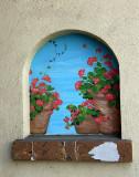 Geranium Mural