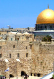 Wailing Wall and the Dome of the Rock