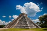 The Pyramid of Kukulkán or El Castillo