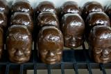 Olmec Chocolate Heads