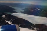 Perito Moreno glacier from air